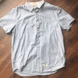 Vans button down shirt medium NEW